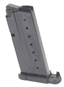 Walther 2796589 Mag PPS 9mm 7 rd Magazine, Black Finish