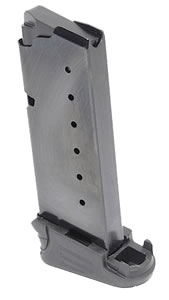 Walther 2796554 Mag PPS 40 Smith & Wesson 5 rd Magazine, Black Finish