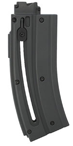 Walther for Colt Rimfire 576602 Colt M4 22 Long Rifle 20 rd Magazine, Black Finish