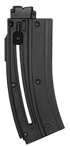 Walther for H&K Rimfire 577610 H&K 416 22 Long Rifle 10 rd Magazine, Black Finish