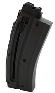 Walther for H&K Rimfire 577608 H&K 416 22 Long Rifle 20 rd Magazine, Black Finish