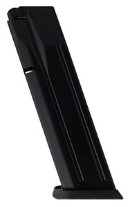 CZ 11650 P09 40 Smith & Wesson 15 rd Magazine, Black Finish