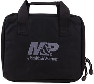 "Allen MP4239 M&P Single Handgun Case 12"" x 10"" Polyester Shell Black"