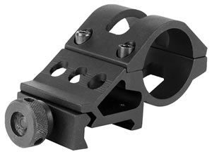 "Aim Sports MT027 Tactical 1"" Offset Ring Mount For Lights Or Acc."