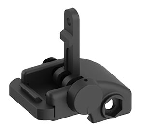 Blackhawk 71BU01BK AR-15 Folding Rear Back Up Iron Sight Black