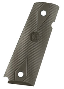 Hogue 45011 Grip Rubber OD Green Improved Panel For Colt Govt
