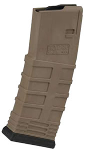 Tapco MAG0930D AR-15 5.56mm 30 rd Magazine, Dark Earth Finish
