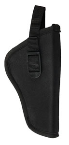 Bulldog DLX7 Deluxe Hip Holster Right Hand Black 2-4 in Med Auto Plain