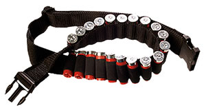 Bulldog WABS Cartridge Belt Black Shotgun