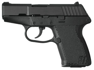Kel-Tec Model P-11 Pistol P11PK, 9 MM, 3.1 in BBL, Dbl Actn Only, Polymer Grips, 3-Dot Sights, Park Finish, 10 + 1 Rds