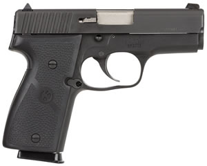 Kahr Model K9 Pistol K9094, 9 MM, 3 1/2 in BBL, Dbl Actn Only, Syn Grips, Blkened SS Finish, 7 + 1 Rds