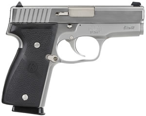 Kahr Model K9 Elite Pistol K9098, 9 MM, 3 1/2 in BBL, Dbl Actn Only, Syn Grips, Stainless Finish, 7 + 1 Rds