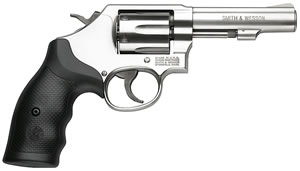 Smith & Wesson Model 64 Revolver 162506, 38 Special, 4 in BBL, Sngl / Dbl, Syn Grips, Satin Stainless Finish, 6 Rds