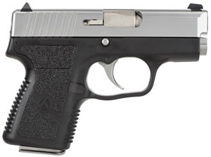 Kahr Model PM9 Micro Pistol PM9093, 9 MM, 3 in BBL, Dbl Actn Only, Syn Grips, Blk Polymer/SS Finish, 6 + 1, 7 + 1 Rds