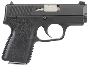 Kahr Model PM9 Micro Pistol PM9094, 9 MM, 3 in BBL, Dbl Actn Only, Syn Grips, Blk Polymer/Blk SS W/Tungsten DLC Finish, 6 + 1, 7 + 1 Rds