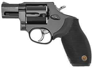 Taurus Model PT-905 Small Frame Revolver 2905021, 9 MM, 2 in BBL, Sngl / Dbl, Blk Rubber Grips, Fixed Sights, Blue Finish, 5 Rds