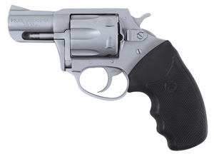 Charter Arms Undercover Revolver 73840, 38 Special + P, 2.2 in BBL, Sngl / Dbl, Rubber Grips, Fixed Sights, Stainless Finish, 6 Rds