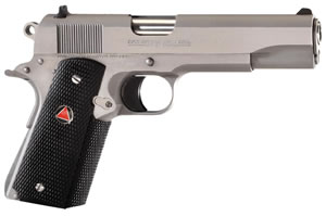 Colt Delta Elite Pistol O2020, 10mm, 5 in in BBL, Single, Rubber Grips, Stainless Finish, 8 + 1 Rds