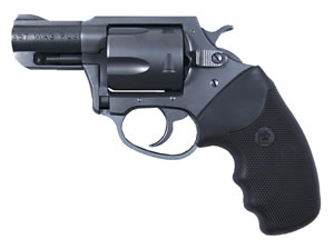 Charter Arms Mag Pug Revolver 13520, 357 Remington Mag, 2 in BBL, Sngl / Dbl, Rubber Grips, Fixed Ramp Sights, Blue Finish, 5 Rds