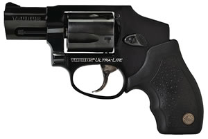 Taurus Model 850 CIA Hammerless Revolver 2850121CIAUL, 38 Special, 2 in BBL, Dbl Actn Only, Rubber Grips, Fixed Sights, Blue Finish, 5 Rds