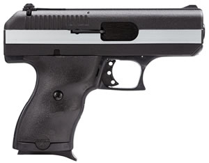 Hi Point Pistol CF380, 380 ACP, 3 1/2 in BBL, Dbl Actn Only, Polymer Grips, 3-Dot Adj Sights, Blk w/Chrome Rail Finish, 8 + 1 Rds