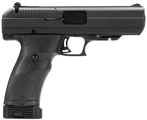 Hi Point Pistol 34013, 40 S&W, 4 1/2 in BBL, Dbl Actn Only, Polymer Grips, 3-Dot Sights, Blk Finish, 10 + 1 Rds