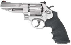 Smith & Wesson Model 627 Pro Revolver 178014, 357 Remington Mag, 4 in BBL, Sngl / Dbl, Synthetic Grips, Stainless Finish, 8 Rds