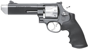Smith & Wesson Model 627 V-Comp Revolver 170296, 357 Remington Mag, 5 in BBL, Sngl / Dbl, Syn Grips, Adj Sights, Two Tone Finish, 8 Rds
