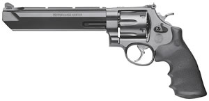 Smith & Wesson Model 629 Stealth Hunter Performance Center Revolver 170323, 44 Remington Mag, 7 1/2 in BBL, Sngl / Dbl, Hogue Rubber Grips, Mt Blk Finish, 6 Rds