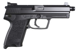 HK USP 45 Tactical Pistol 704501TA5, 45 ACP, 4.92 in BBL, Sngl / Dbl, Polymer Grips, 3-Dot Sights, Blue Finish, 10 + 1 Rds