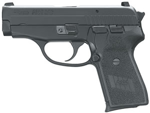 Sig Sauer P239 Generation 2 Pistol 2399SAS2B, 9 MM, 3.6 in BBL, Sngl / Dbl, Poly Grips, Siglite Night Sights, Blk Finish, 8 + 1 Rds