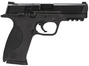 Smith & Wesson M&P 9 Full Size Pistol 206301, 9 MM, 4.25 in BBL, Dbl Actn Only, Blk Syn Grips, Blk Finish, 17 + 1 Rds