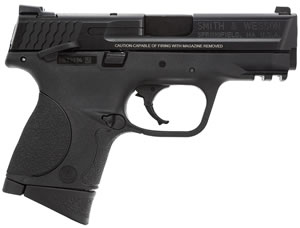 Smith & Wesson M&P 40C Compact Pistol 106303, 40 S&W, 3.5 in BBL, Dbl Actn Only, Blk Syn Grips, Blk Finish, 10 + 1 Rds