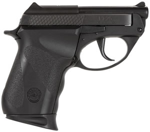 Taurus Model PT-25 Small Frame Pistol 1250031R, 25 ACP, 2.33 in BBL, Dbl Actn Only, Polymer Grips, Fixed Sights, Blue Finish, 9 + 1 Rds