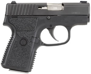 Kahr Model P380 Pistol KP3834, 380 ACP, 2 1/2 in, Textured Polymer Grip, Black Stainless Finish, 6 + 1 Rd