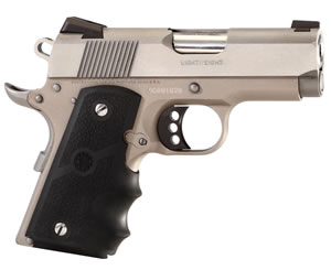 Colt Defender Pistol O7002D, 9mm, 3 in, Rubber Grip, Stainless Finish, 8 + 1 Rd