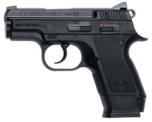 CZ-USA CZ 2075 Rami B Semi-Auto Pistol 91750, 9mm, 3 in, Sngl / Dbl, Matte Blue / Black Rubber, 10/14 Rd, Safety, 2 Mags
