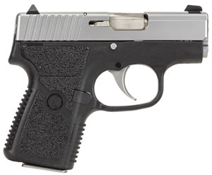 Kahr Model P380 Pistol KP38233, 380 ACP, 2 1/2 in, Polymer Grip, Black Polymer/Stainless Steel Finish, 6 + 1 Rd