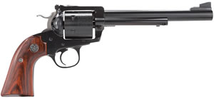 Ruger Bisley Model RB44W Revolver w/Rollmark Cylinder 0831, 44 Remington Mag, 7 1/2 in BBL, Sngl Actn Only, Rosewood Grips, Blue Steel Finish, 6 Rds