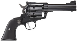 "Ruger BN34 Black Hawk Revolver 0306, 357 Mag, 4.62"" BBL, Single-Action, Black Chkd Hard Rubber Grips, Blued Finish, 6 Rd"