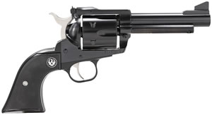 Ruger Blackhawk BN44 Revolver 0445, 45 Long Colt, 4.62 in BBL, Black Grip, Blued Finish, 6 Rds