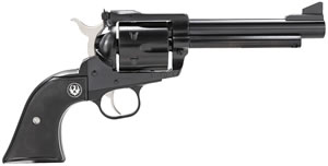 Ruger Blackhawk BN455 Revolver 0465, 45 Long Colt, 5.5 in BBL, Black Grip, Blued Finish, 6 Rds