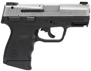 Taurus Model 24/7 G2 Standard Pro Pistol 1247459G2C12, 45 ACP, 3.5 in, Polymer Grip, Stainless Finish, 12 + 1 Rd