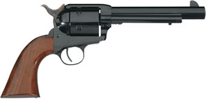 Taylors Model 1873 SA Cattleman Revolver 0394, 44 Rem Mag, 6 in, Walnut Grip, Blue Finish, 6 + 1 Rd