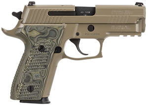 Sig Sauer Model P229 E29R40SCPN, 40 S&W, 3.9 in, Polymer Grip, Flat Dark Earth Finish, 12 + 1 Rd