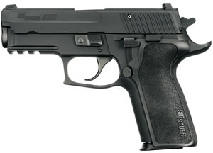 "Sig Sauer P229 Enhanced Elite Pistol 229R-40-ESE-CA, 40 S&W, 3.9"" Barrel, SRT DA/SA, One Piece Ergo Grips, Nitron Slide/Black Anodized Frame Finish, 10 + 1 Rd, CA Compliant"