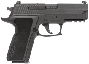 "Sig Sauer P229 Enhanced Elite Pistol 229R-9-ESE-CA, 9 mm, 3.9"" Barrel, SRT DA/SA, One Piece Ergo Grips, Nitron Slide/Black Anodized Frame Finish, 10 + 1 Rd, CA Compliant"