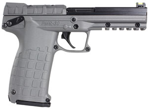 Kel-Tec Model PMR-30 Pistol PMR30GY, 22 WMR, 4.3 in, Zytel Grip, Gray Finish, 30 + 1 Rd