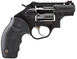 Taurus Model 85 Revolver 2850021PFS, 38 Special + P, 2 in, Poly Grip, Blue Finish, 5 Rd