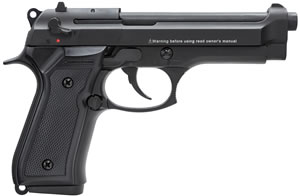 Chiappa M9 Pistol 401077, 22 Long Rifle, 5 in, Black Plastic Grip, Black Finish, 10+1 Rd